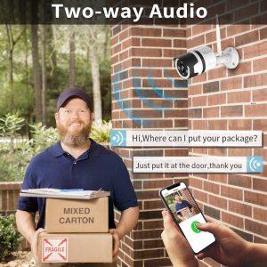 Caméra de surveillance extérieure Netvue